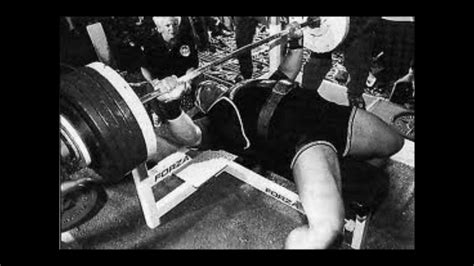 Ted Arcidi Quot Boss Of The Bench Press Quot Youtube