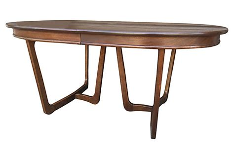 mid century modern oval dining table mid century oval dining table modern vintage mix
