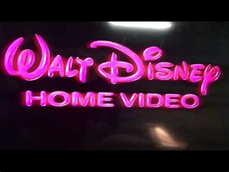 1986 walt disney home video logo aka youtube walt disney home video logo from 1986 youtube