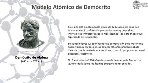 Modelo Atomico De Democrito | modelos atomicos de democrito