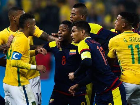 Brasil Vs Brasil Vs Colombia El Resumen Y Los Goles Partido Por