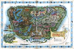 maps disneyland california 1992 disneyland souvenir map disneyland treasures