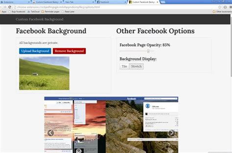 facebook themes chrome extension 5 facebook background changer extensions for chrome