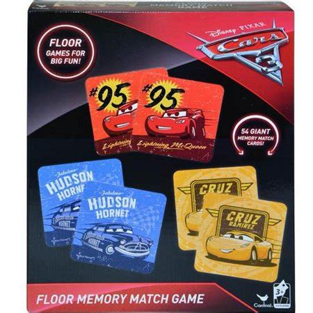 Disney Princess Floor Memory 54 Tiles - cars 3 floor memory match walmart