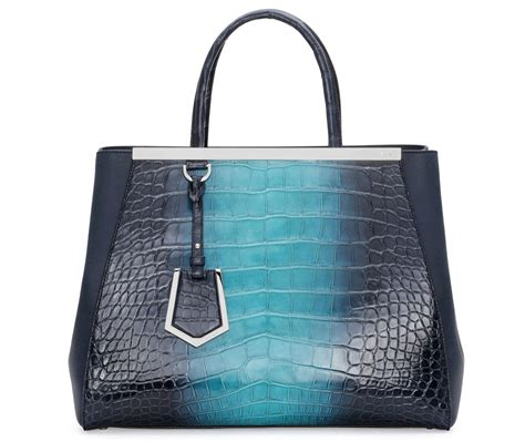 Bamford Ombre Crocodile Bag by Fendi S Fall 2014 2jours Line Will Include This Alligator