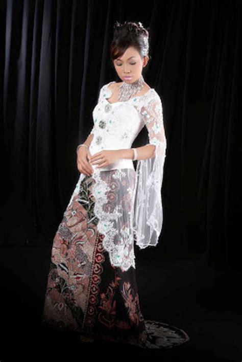 aneka gambar kebaya contoh desain model kebaya muslim modern terbaru wanita