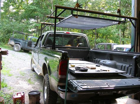 2000 f350 turbodiesel crew bed roof rack installation