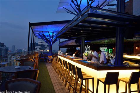 Roof Top Bars above eleven rooftop bar restaurant bangkok asia bars restaurants
