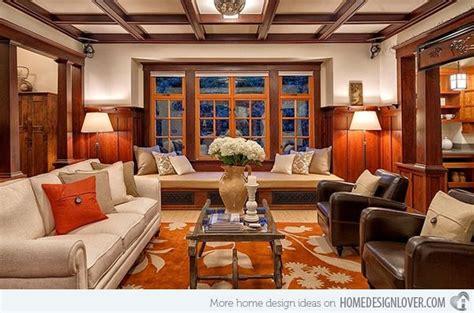 craftsman style living room ideas 15 warm craftsman living room designs livingrooms