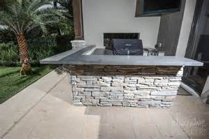outdoor bbq concrete countertops alternative constructors