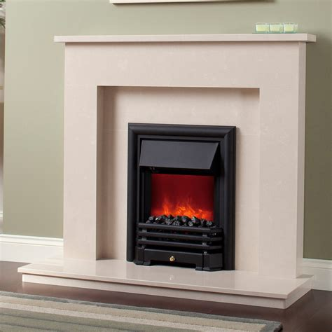 firebrick back fireplace with gray marble surround and
