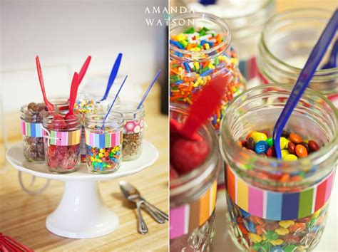 ice cream bar topping ideas cute for toppings for ice cream party mick s graduation