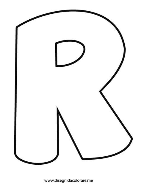 immagini lettere lettera r da colorare disegni da colorare