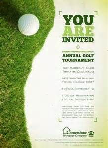 Golf Tournament Budget Template by Golf Tournament Invitation Template Invitation Template