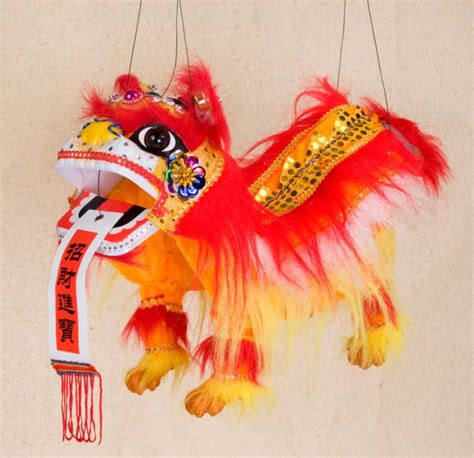 new year puppet string puppet arts crafts new year