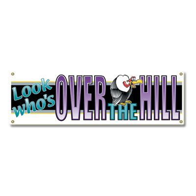 Over The Hill Decorations Over The Hill Birthday Clipart 53