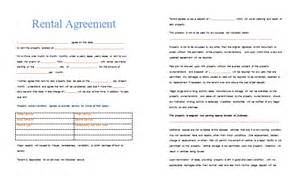product rental agreement template rental agreement template