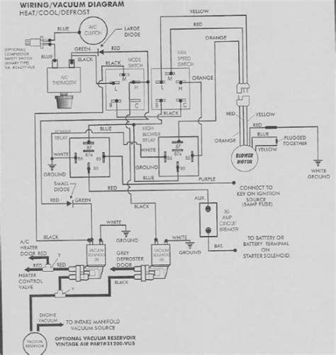 6 best images of vintage air wiring diagram vintage air