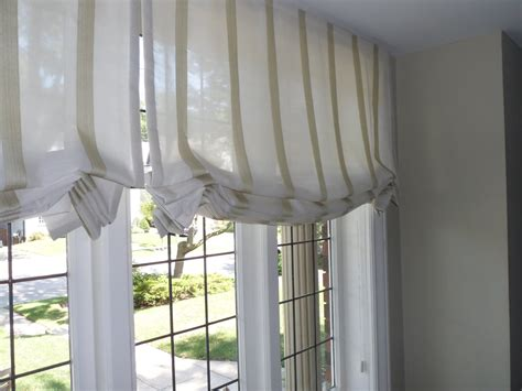 jade creative lovely striped sheer roman blinds