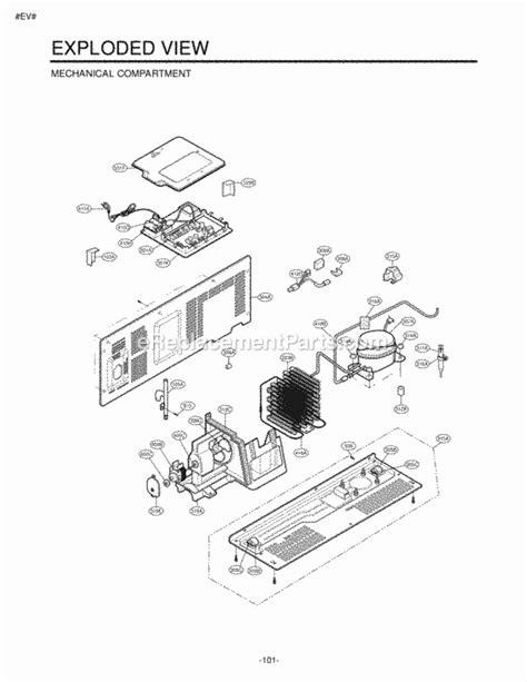 lg refrigerator pressor wiring diagram free