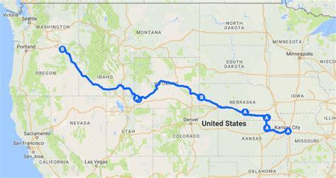 the oregon trail map oregon trail trip summary j dawg journeys