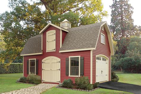Two Storey Sheds by The Shed Place