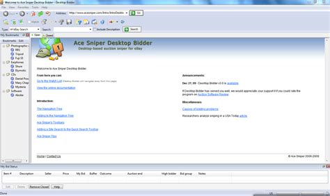 ebay desktop site ace sniper desktop bidder pro 3 0 free download download