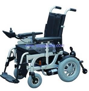 Aluminum wheelchair with light power wheelchair for old people and