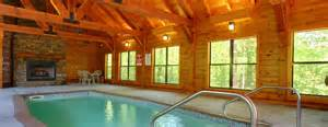 large cabin rental in pigeon forge with heated indoor pool