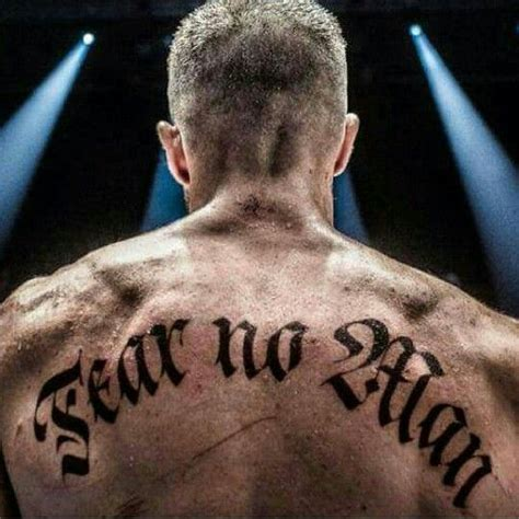 Southpaw Back Tattoo Jake Gyllenhaal   18 best images about southpaw on pinterest bird tattoos