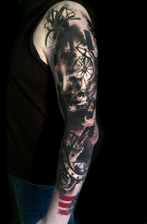 70 Eye Catching Sleeve Tattoos Trash Polka And Happenings 7 Amazing Sleeves