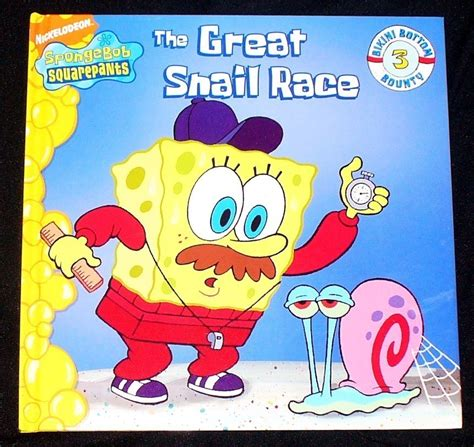 Selling Home Decor Online by Spongebob Squarepants The Great Snail Race H C New