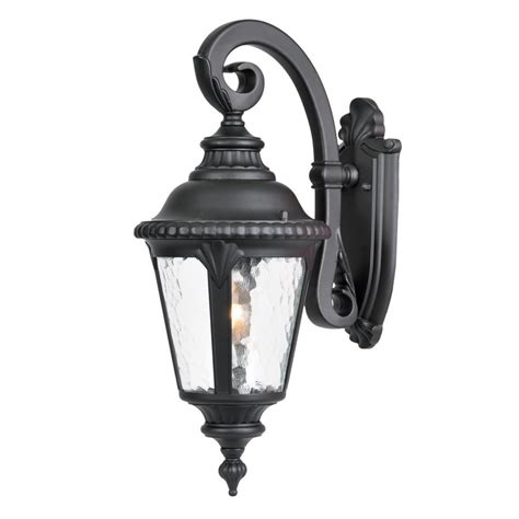 Black Outdoor Wall Light Shop Acclaim Lighting Surrey 19 In H Matte Black Outdoor Wall Light At Lowes