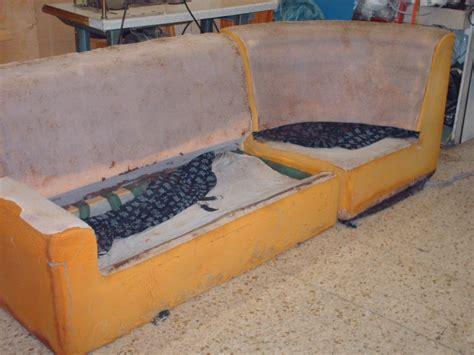 imbottire un divano riparare divani ristrutturazione divano angolare