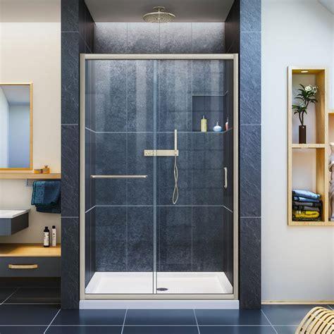 Dreamline Infinity Z 44 In To 48 In X 72 In Semi Framed Dreamline Infinity Shower Door
