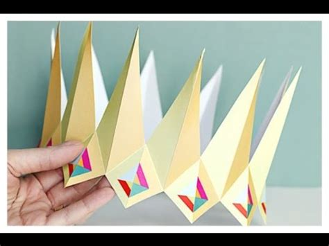 How To Make A Paper Tiara - how to make a paper crown