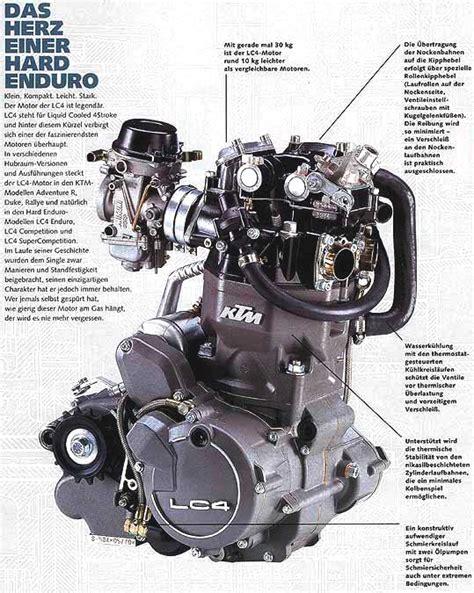 Ktm Lc4 Engine Lc4 Flyer Jpg 539 215 675 Motorcycle Engine