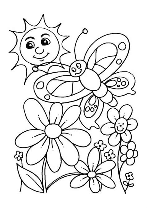 faerie garden spring colouring best 25 spring coloring pages ideas on color by number pages to color and