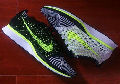 Nike Flyknit Racer Green Neon nike flyknit racer neon green endeavouryachtservices co uk