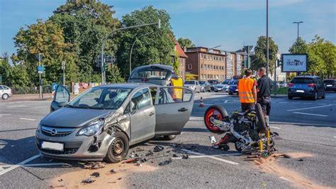 Motorrad Hamburg Unfall by Unfall Mit Motorrad Auf Der B 252 Rgerweide Blaulicht