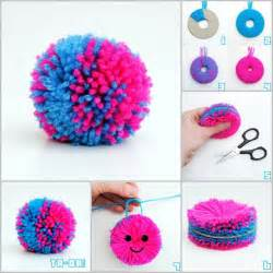 easy diy yarn pompom diy pictures photos and images for facebook