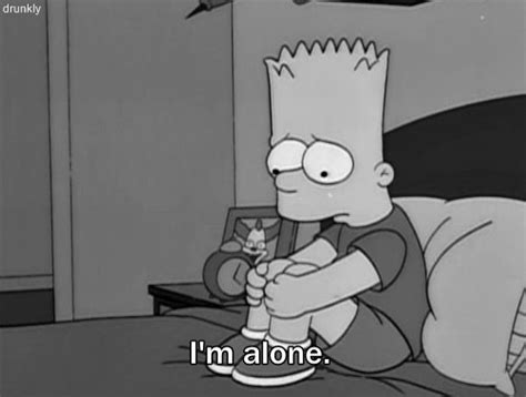 imagenes sad simpsons bart simpson sad quotes quotesgram