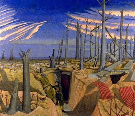 nash, john (1889 1946) 1917 oppy wood (imperial war coll