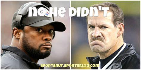 Mike Tomlin Memes - sportsblog sports nut bill cowher blasts mike tomlin