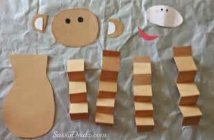 valentine s day heart monkey craft for kids crafty morning
