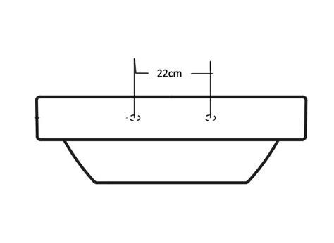 aufsatz für feuerschale aufsatz und wandwaschtisch ahw2032 duschdeals