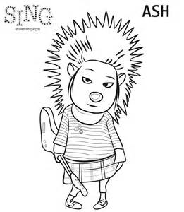 sing coloring page sing coloring pages getcoloringpages