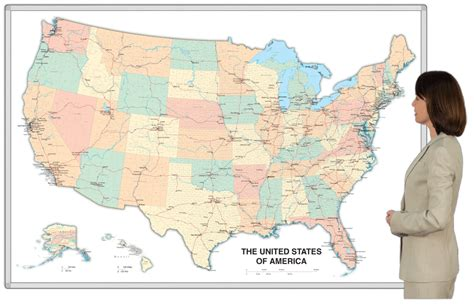 map usa magnetic magnetic erase united states usa whiteboard map
