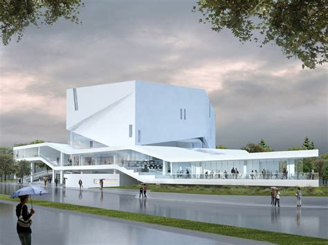 Church Floor Plan Designs by Mashouf Performing Arts Center By Michael Maltzan Architecture