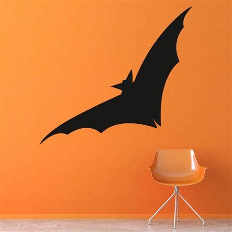 flying bat wall sticker halloween wall art